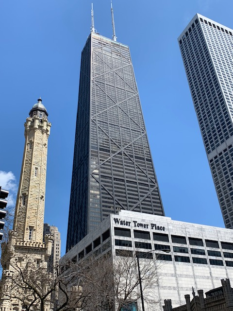 Chicago - John Hancock, Water Tower