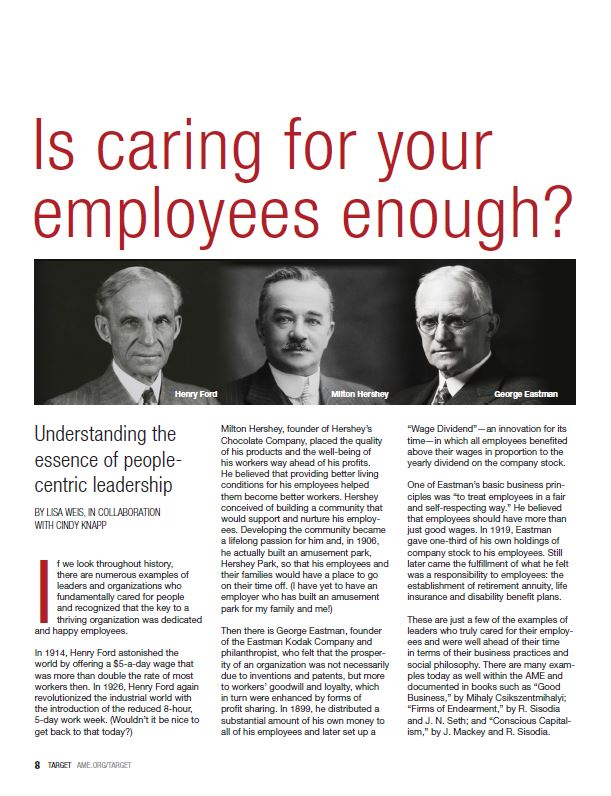 Is caring for employees enough?
