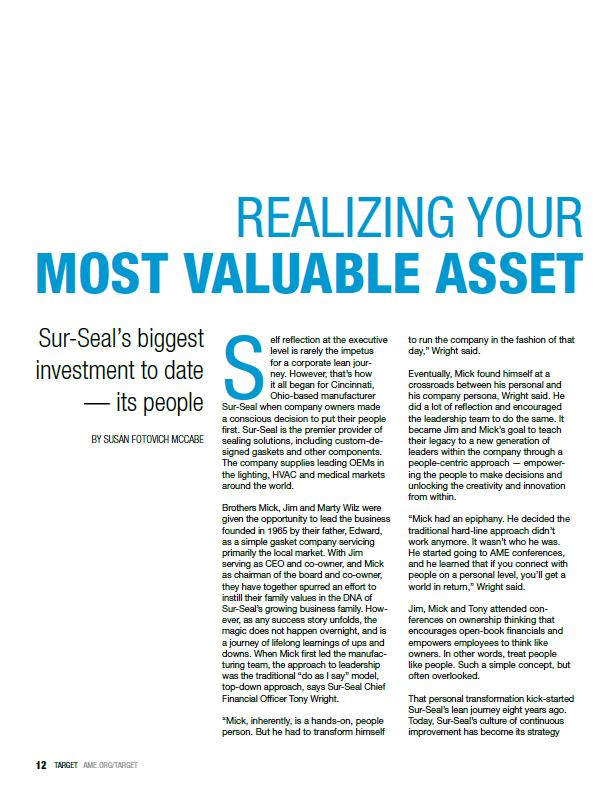 Realizing your most valuable asset