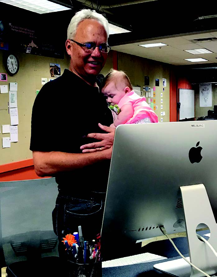 Richard Sheridan and Baby Flynn