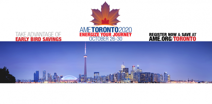 AME Toronto 2020 Early Bird Discount