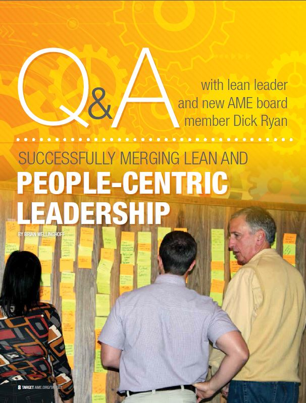 Successfully merging lean and people-centric leadership